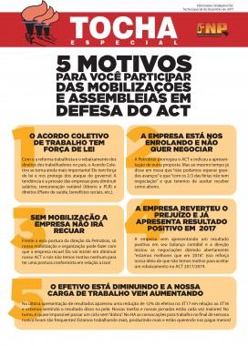 5 motivos para você participar das mobilizações de ACT