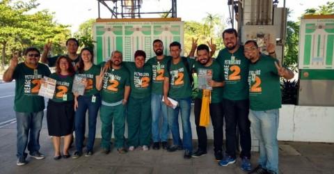 SINDIPETRO-SJC ESTÁ COM A CHAPA 2 NA ELEIÇÃO DO SINDIPETRO CAXIAS