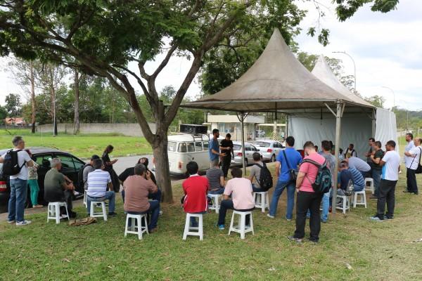 Trabalhadores do Grupo 1 aprovam corte de rendição nesta quarta (6)